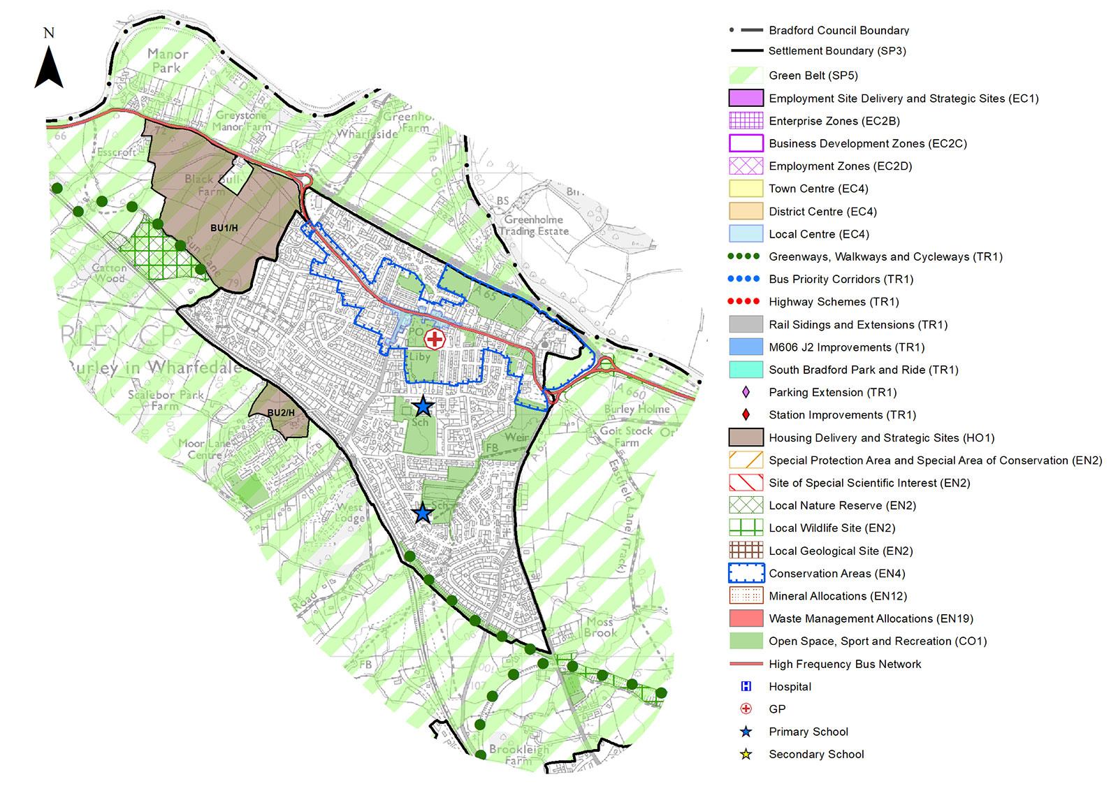Bradford Local Plan, Burley in Wharfedale